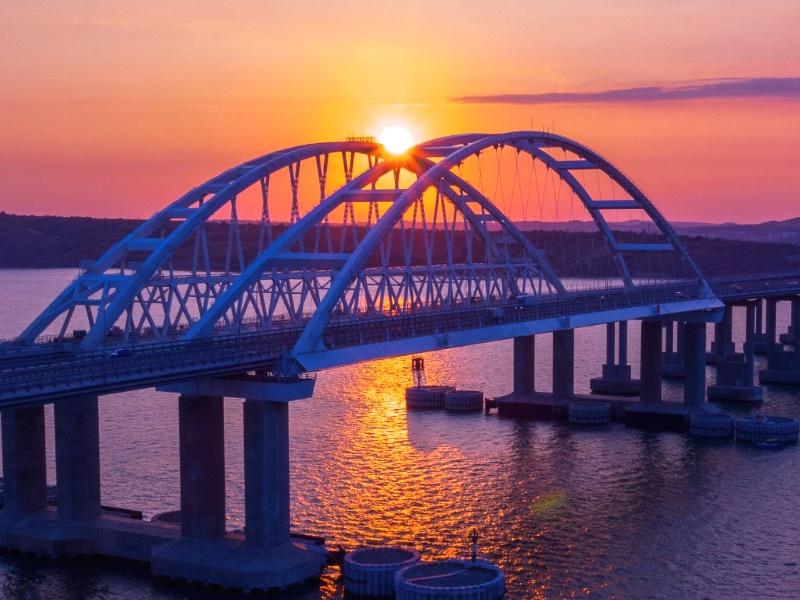 Фотография Крымского моста