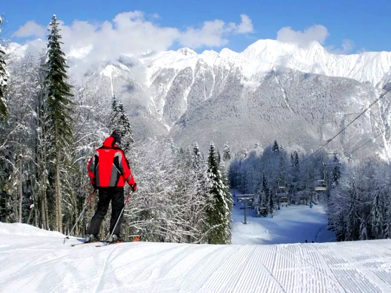 горнолыжный курорт Сочи