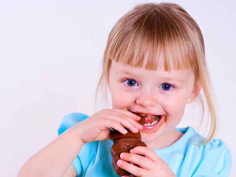 о сладостях в рационе ребенка