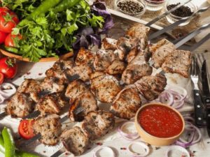 Абхазский шашлык