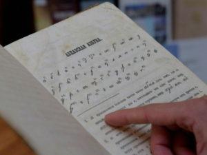 Абхазский язык и литература