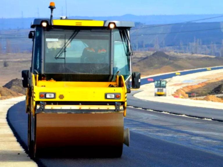 Строительство новой трассы от Краснодара до Темрюкского района