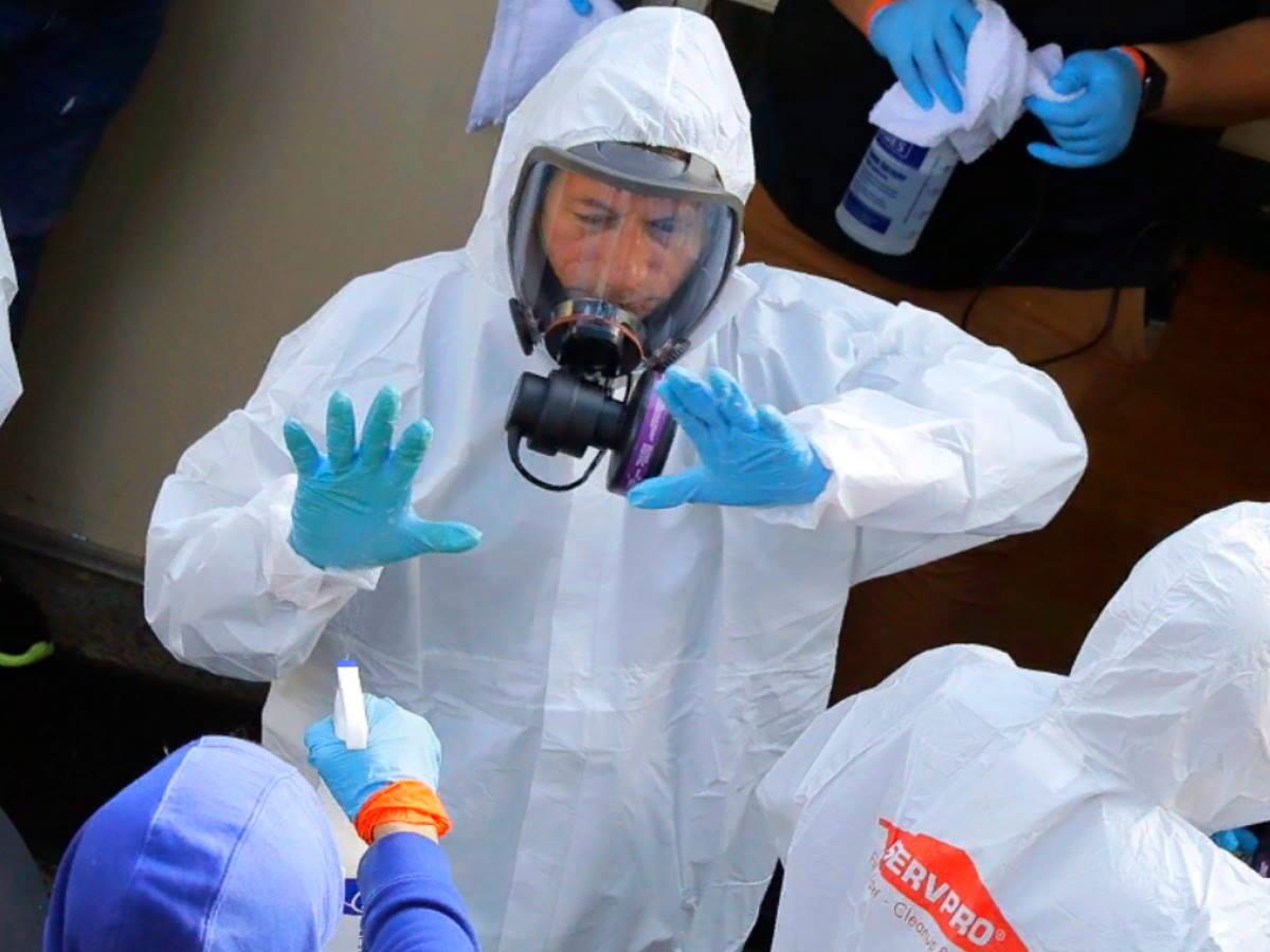 распространение вируса в Италии