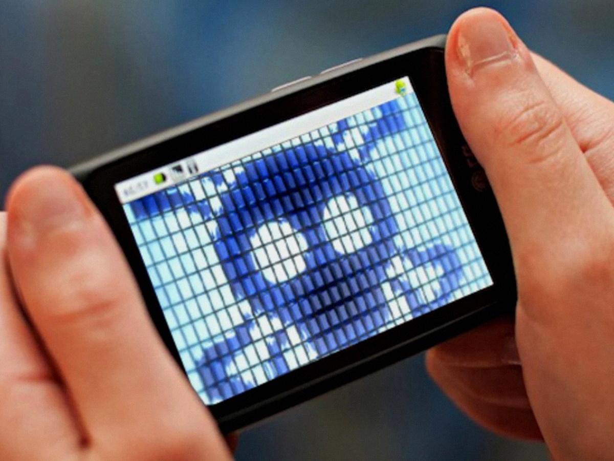 Смартфон заражен вирусом