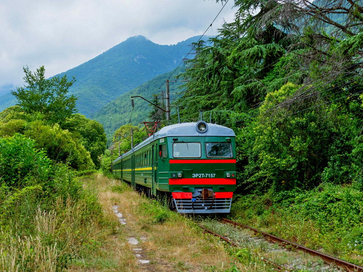 В Абхазию на поезде