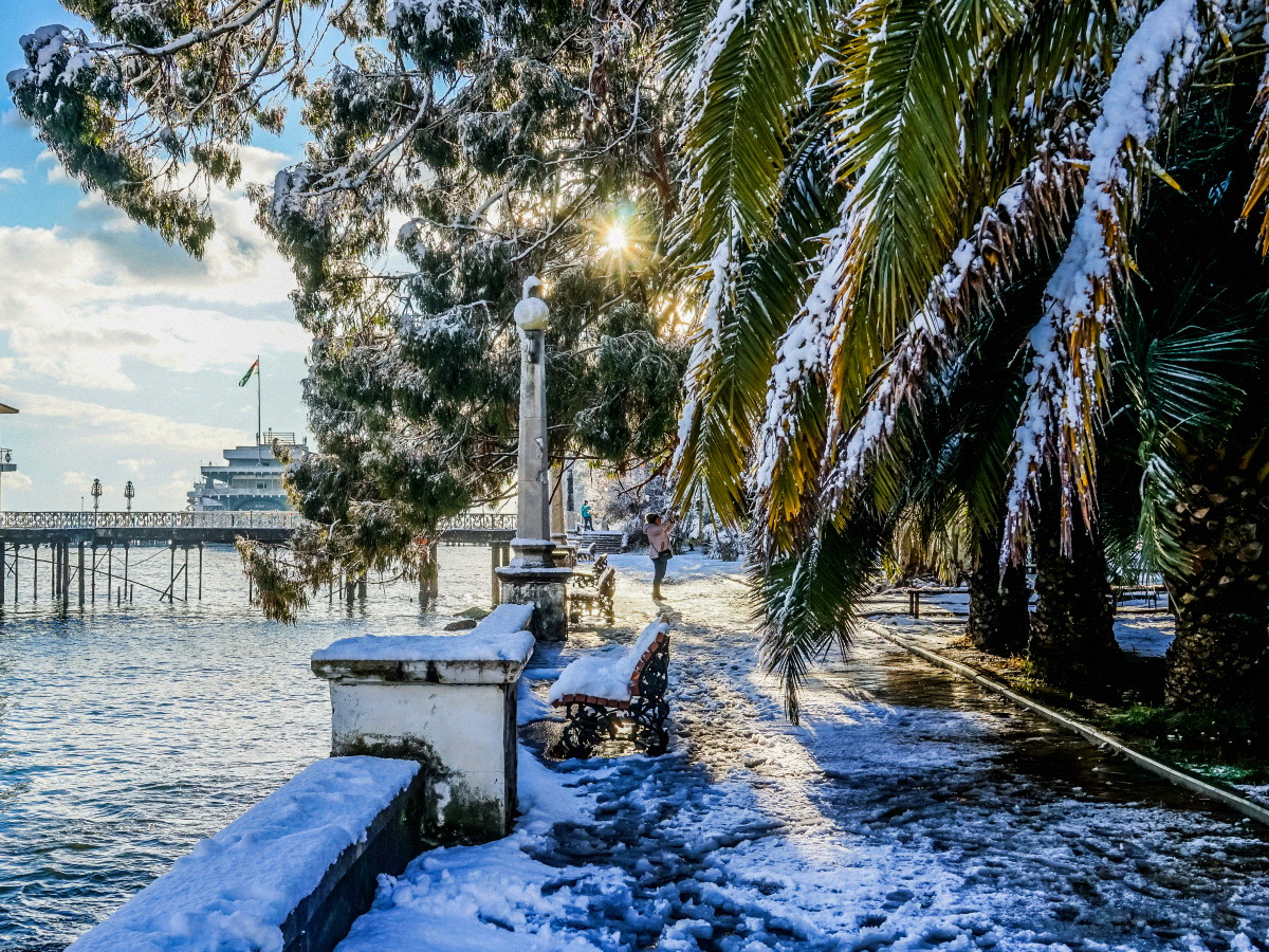 Что посмотреть в Абхазии зимой?