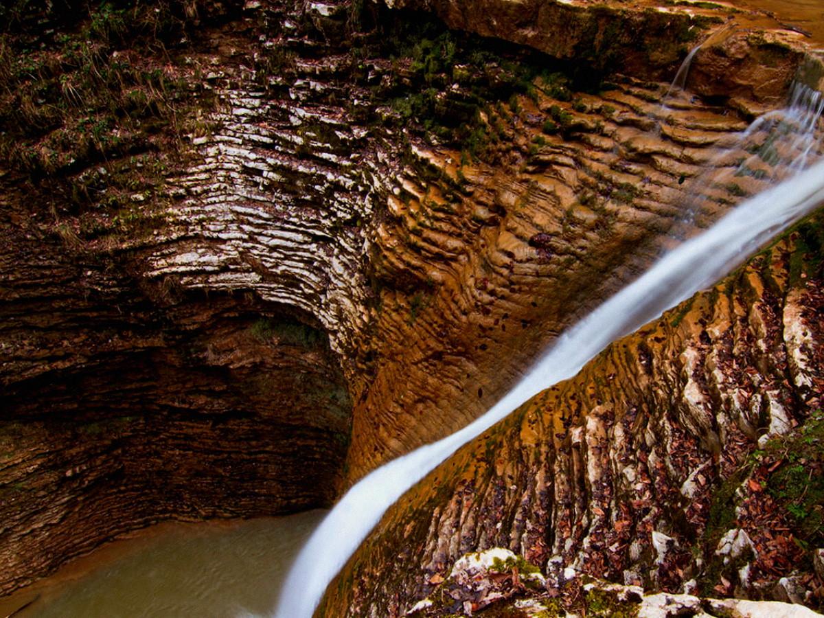 десять водопадов Руфабго