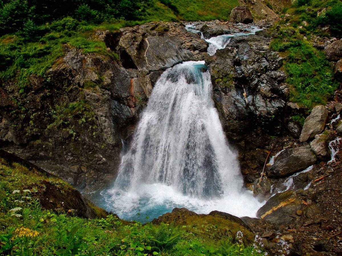 Клычский водопад