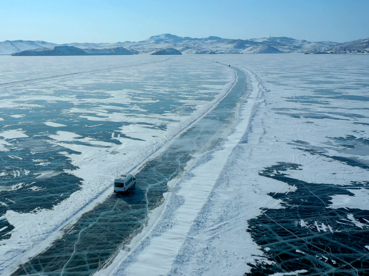 Дорога по Байкалу